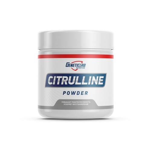 Аминокислота Citrulline Powder (300 г) Geneticlab