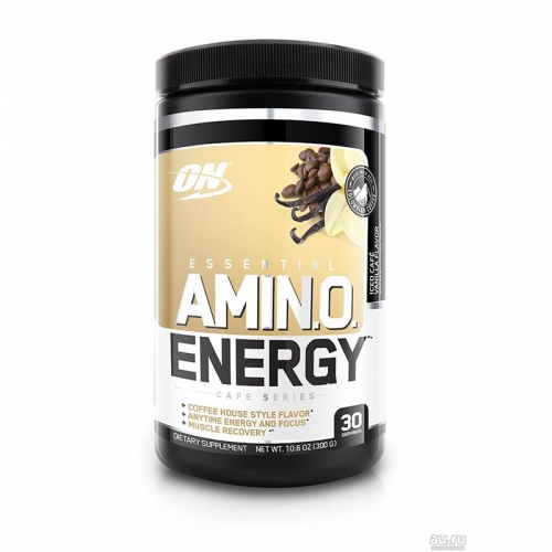 Аминокислоты Amino Energy Cafe Series (30 порций) Optimum Nutrition
