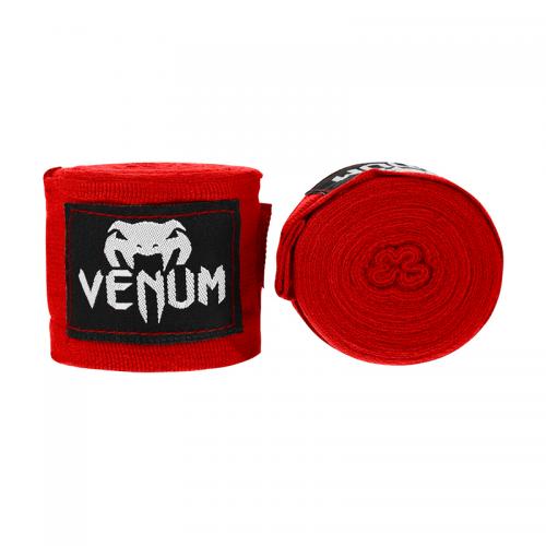 Боксерские бинты Venum Kontact Красные 4 метра