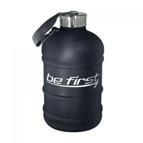 Бутылка для воды Be first, чёрная матовая (1890 мл)