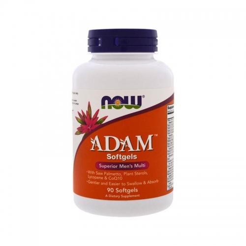 Витаминно-минеральный комплекс ADAM (90 капсул) NOW