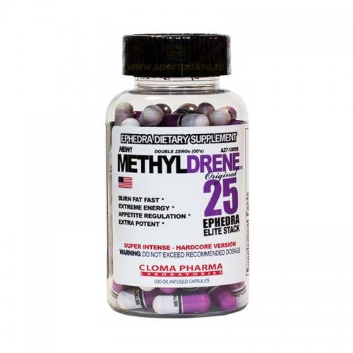 Жиросжигатель Methyldrene-25 Elite Cloma Pharma (100 капсул)