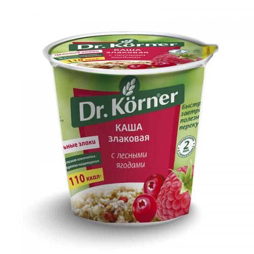 Каша Злаковая с лесными ягодами Dr.Korner (40 г)