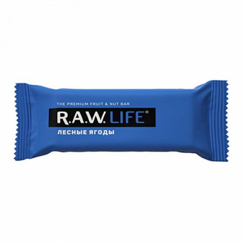 Батончик R.A.W.LIFE Лесные ягоды (47 г)