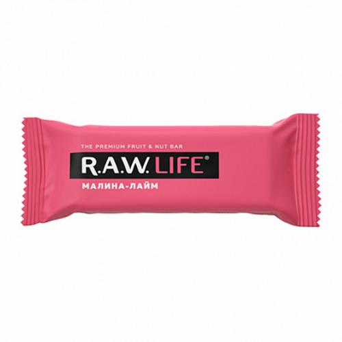 Батончик R.A.W.LIFE Малина-Лайм (47 г)