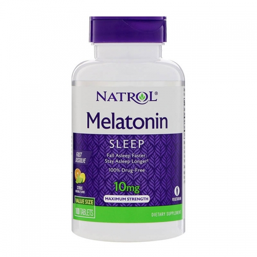 Мелатонин Melatonin (10 мг, 60 таблеток) Natrol