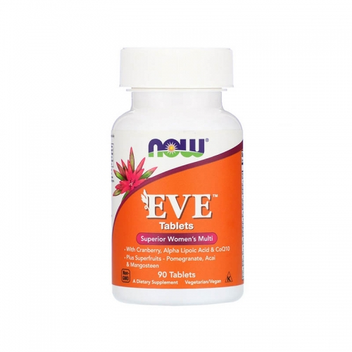 Мультивитамины для женщин EVE (90 таблеток) NOW