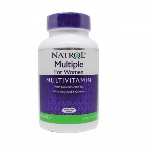 Мультивитамины для женщин Multiple for women Natrol (90 таблеток)