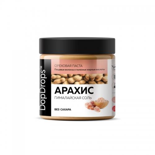 Паста Арахисовая Крем с гималайской солью (500 г) DopDrops