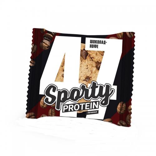 Печенье обогащенное белком (60 г) Sporty