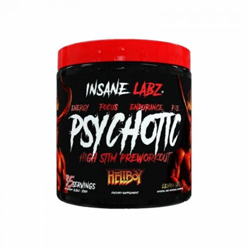 Предтренировочный комплекс Psychotic Hellboy edition Insane Labz (216 г)