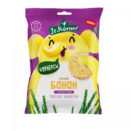 Рисовые мини-хлебцы с бананом Dr.Korner (30 г)