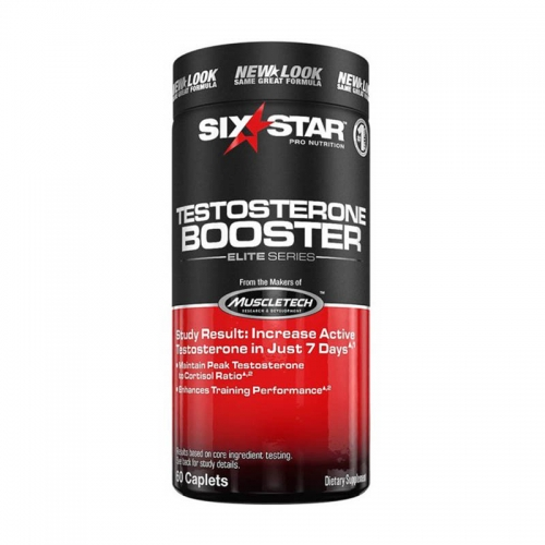 Тестобустер Six star Testosterone booster (60 кап) Muscletech