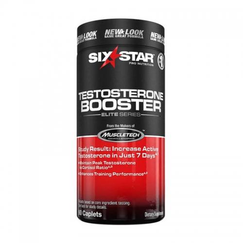 Тестобустер Six star Testosterone booster (60 кап) Muscletech