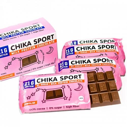 Шоколад молочный Chika Sport Chikalab (100 гр)