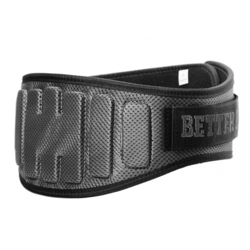 Пояс Pro lifting Belt Better Bodies (серый)
