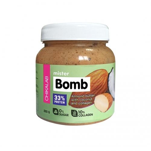 Паста миндальная с кокосом BOMB Chikalab (250 г)