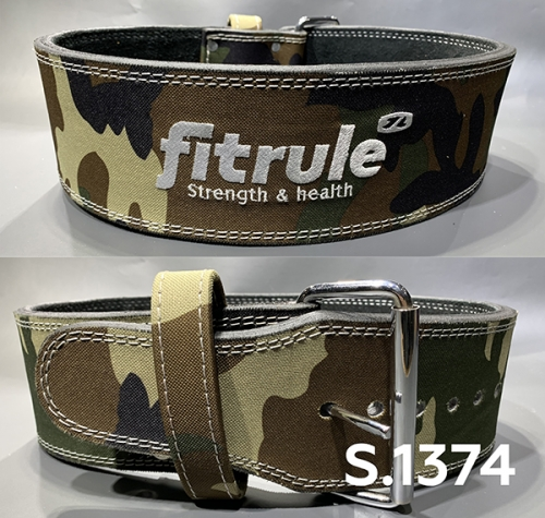 Ремень weight lifting power belts in camo designs art: 1374 FitRule