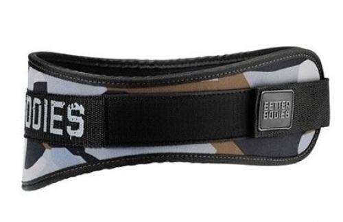 Атлетический пояс Camo gym belt камуфляжный Better Bodies