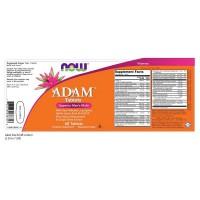 Мультивитамины для мужчин Adam NOW (120 таблеток)
