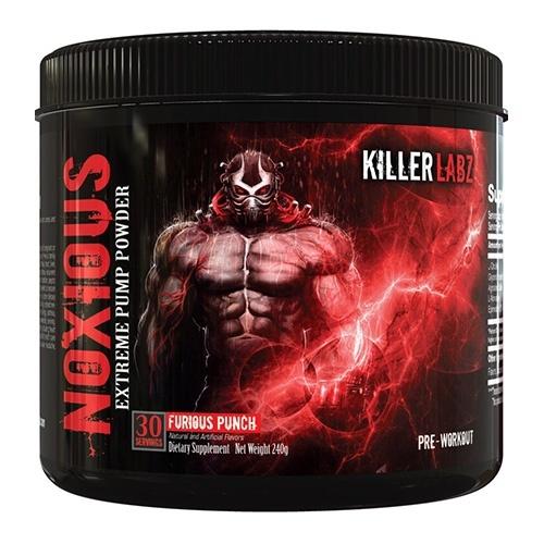 Предтренировочный комплекс Noxious Furious Punch Killer Labs (30 порций)