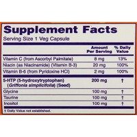 Аминокислота 5-HTP NOW (100 мг, 60 капсул)