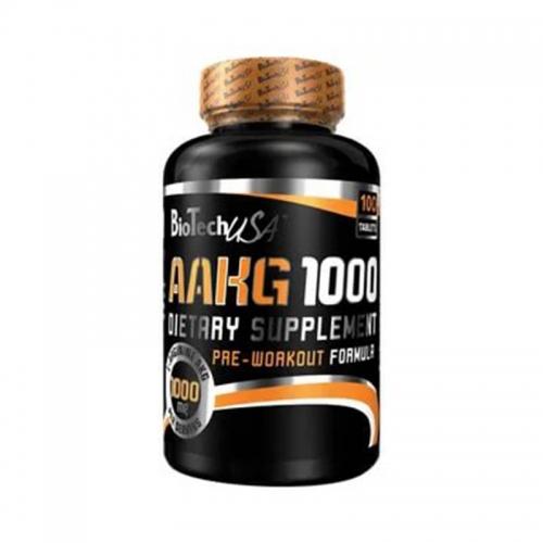 AAKG 1000mg Biotech USA (100 таблеток)