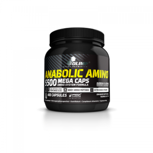 Amino Anabolic 5500 400 caps Olimp