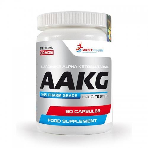 AAKG 500 мг (90 кап) West Pharm