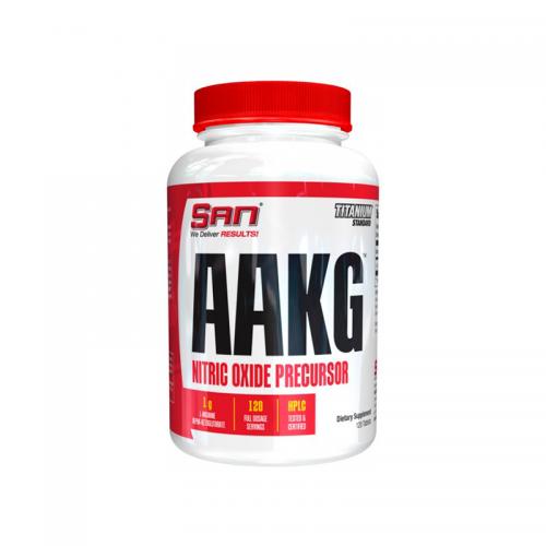 Аргинин AAKG SAN (120 капсул)