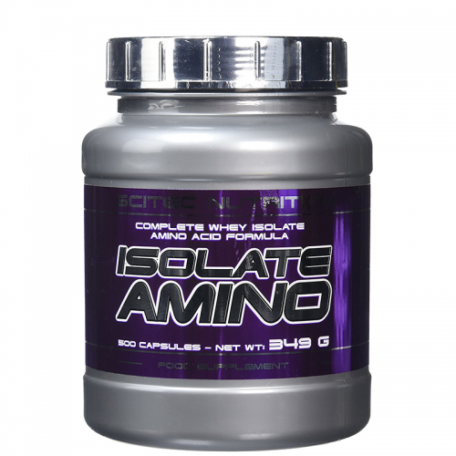 Аминокислоты Amino Isolate Scitec (500 капсул)