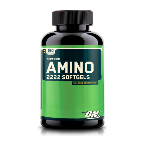 Аминокислоты Superior Amino 2222 Softgels Optimum Nutrition (150 капсул)