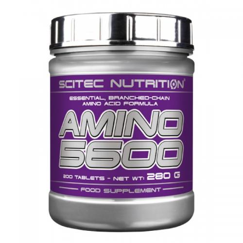 Аминокислоты Amino 5600 Scitec (200 таблеток)