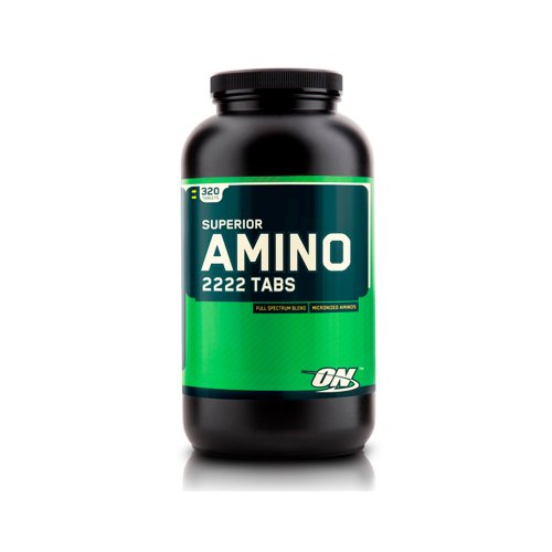 Аминокислоты Superior Amino 2222 Optimum Nutrition (320 таблеток)