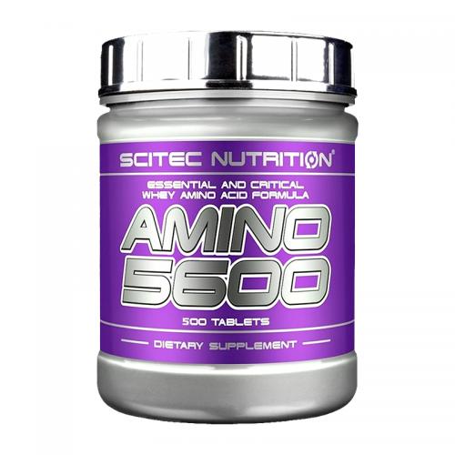 Аминокислоты Amino 5600 Scitec (500 таблеток)