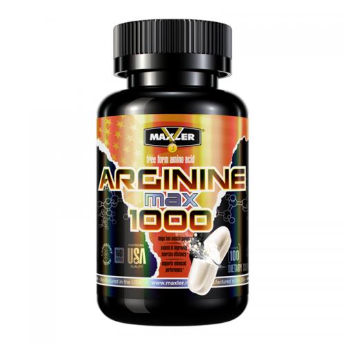 Аргинин Maxler Arginine 1000 max (100 таблеток)