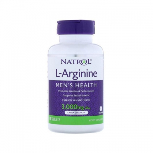 Arginine 3000 мг (90 таб) Natrol