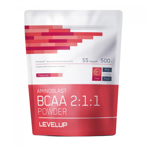 BCAA Aminoblast 2:1:1 Powder Level Up (500 г)