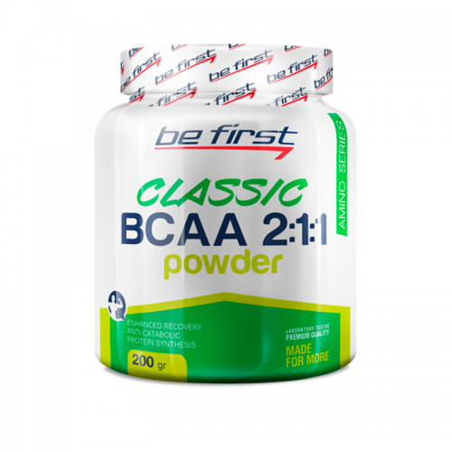 Bcaa 2:1:1 200gr Be first