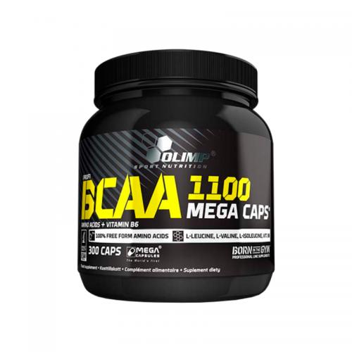 BCAA Mega Caps Olimp (1100 мг, 300 капсул)
