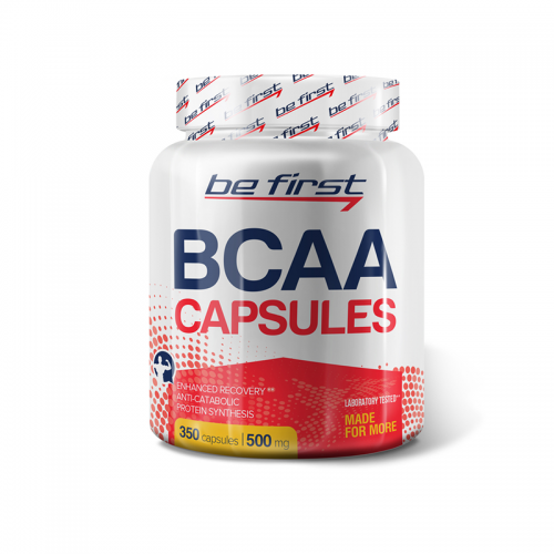 BCAA Be first (350 капсул)