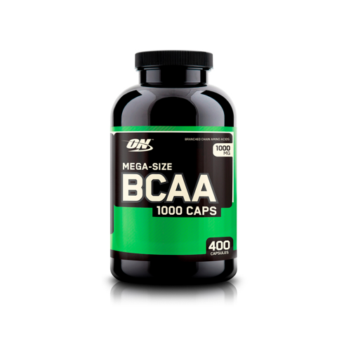 BCAA Optimum Nutrition (1000 мг, 400 капсул)