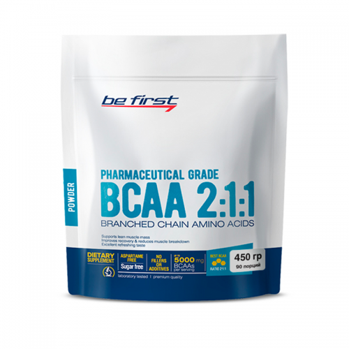 BCAA 2:1:1 Be first (450 г)
