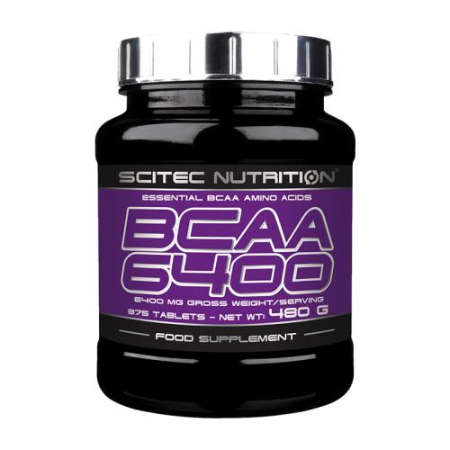 BCAA 6400 Scitec (375 таблеток)