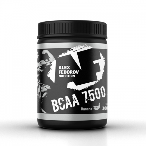 BCAA 7500 300 г Alex Fedorov Nutrition