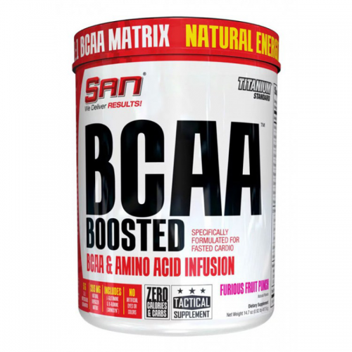 BCAA Boosted (417.6 г) SAN