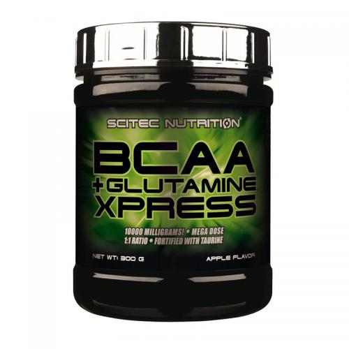 BCAA+Glutamine Xpress Scitec (300 г)