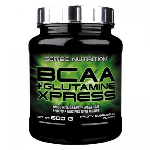 BCAA+Glutamine Xpress Scitec (600 г)
