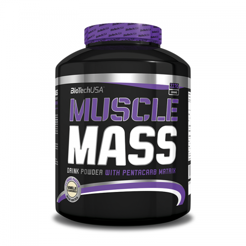 Гейнер Muscle Mass Biotech USA (2270 г)