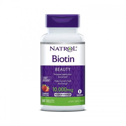 Biotin 10 000 мкг (60 БР табл) Natrol